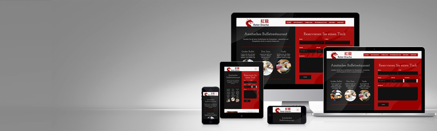 Responsive Website Restaurant