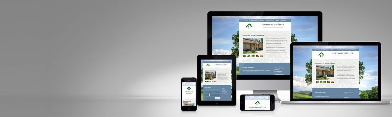 Responsive Website Ferienhaus